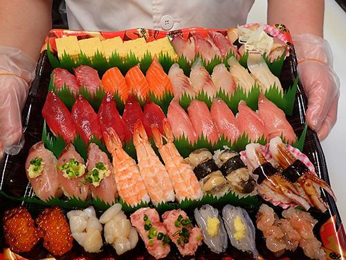 正月営業 寿司 出前