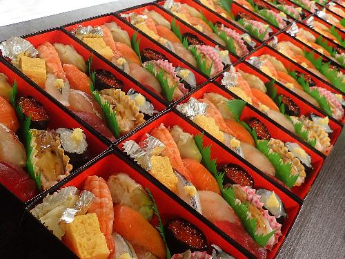 日比谷公園 寿司 出前