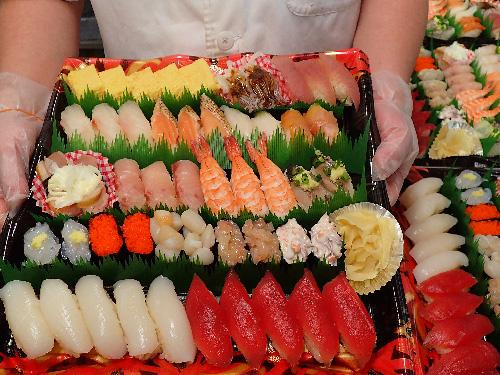 晴海 寿司 出前