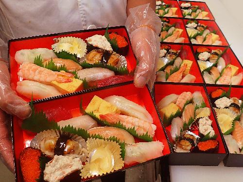 文京区西方 寿司 出前