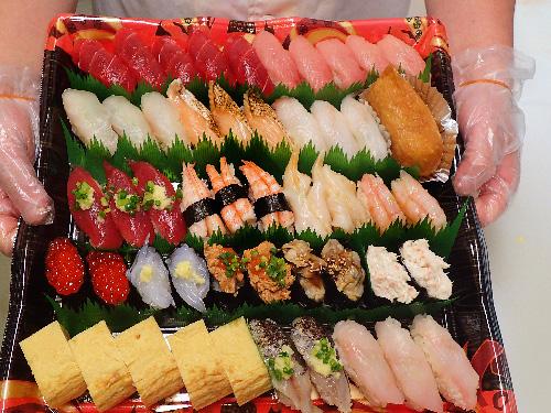 日本橋 デリバリー 寿司