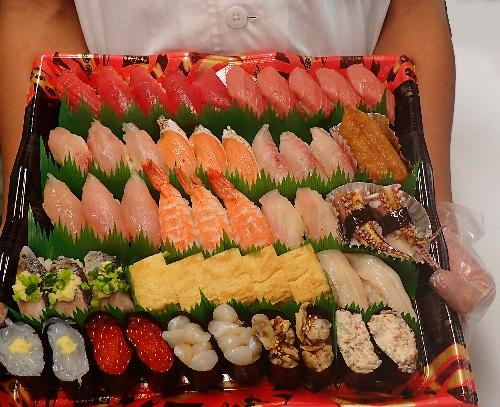 文京区 正月営業 宅配寿司