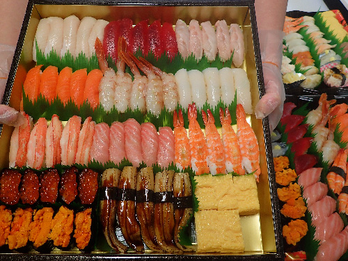 日本橋茅場町 デリバリー 寿司