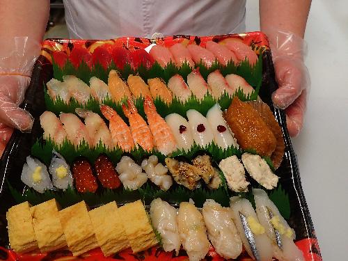 霞が関 寿司 出前