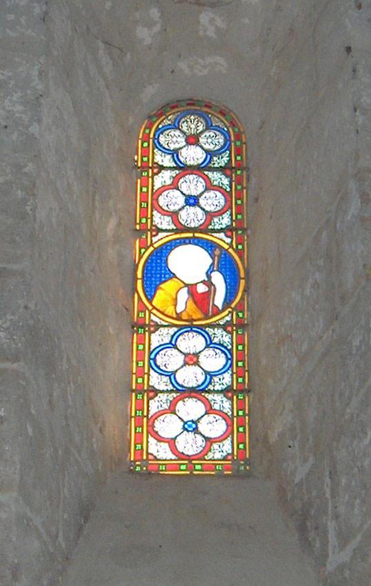 Saint Jacques entouré de quatre quadrilobes