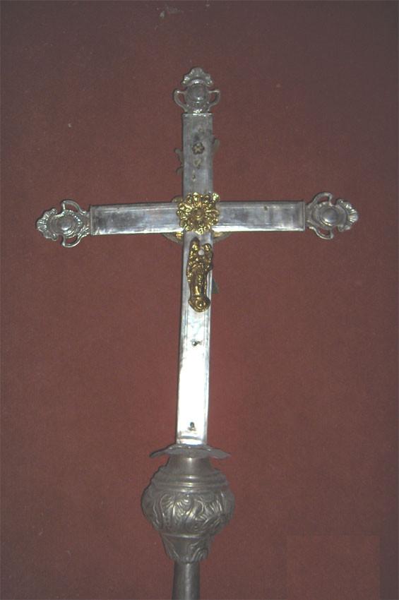 croix de procession verso