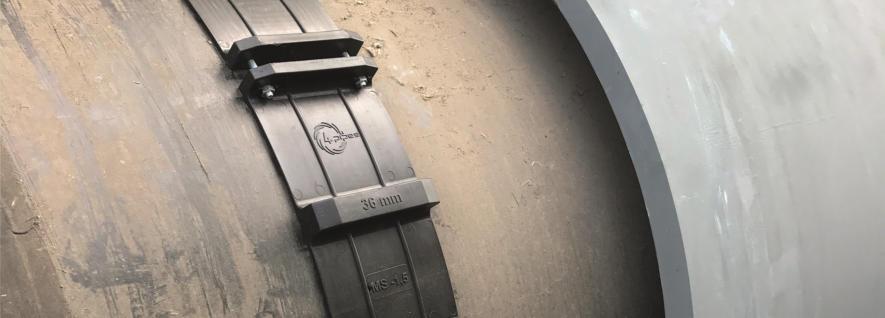 KEBI Gleitkufen mit Schraubverbindung für die schnelle und einfache Verarbeitung