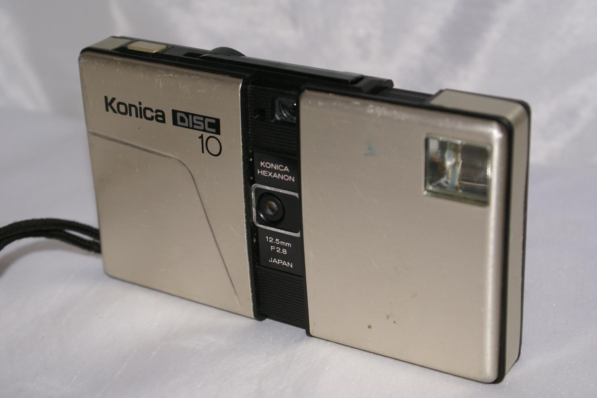 KONICA 10 une des rares grandes marques à accompagner KODAK dans ce format