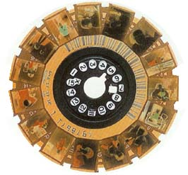 le film rond de 15 poses au format DISC ( 10.6 x 8.2 )