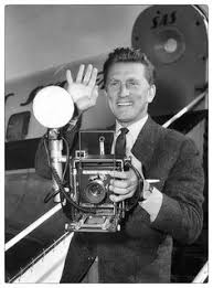 KIRK DOUGLAS SPEED GRAPHIC