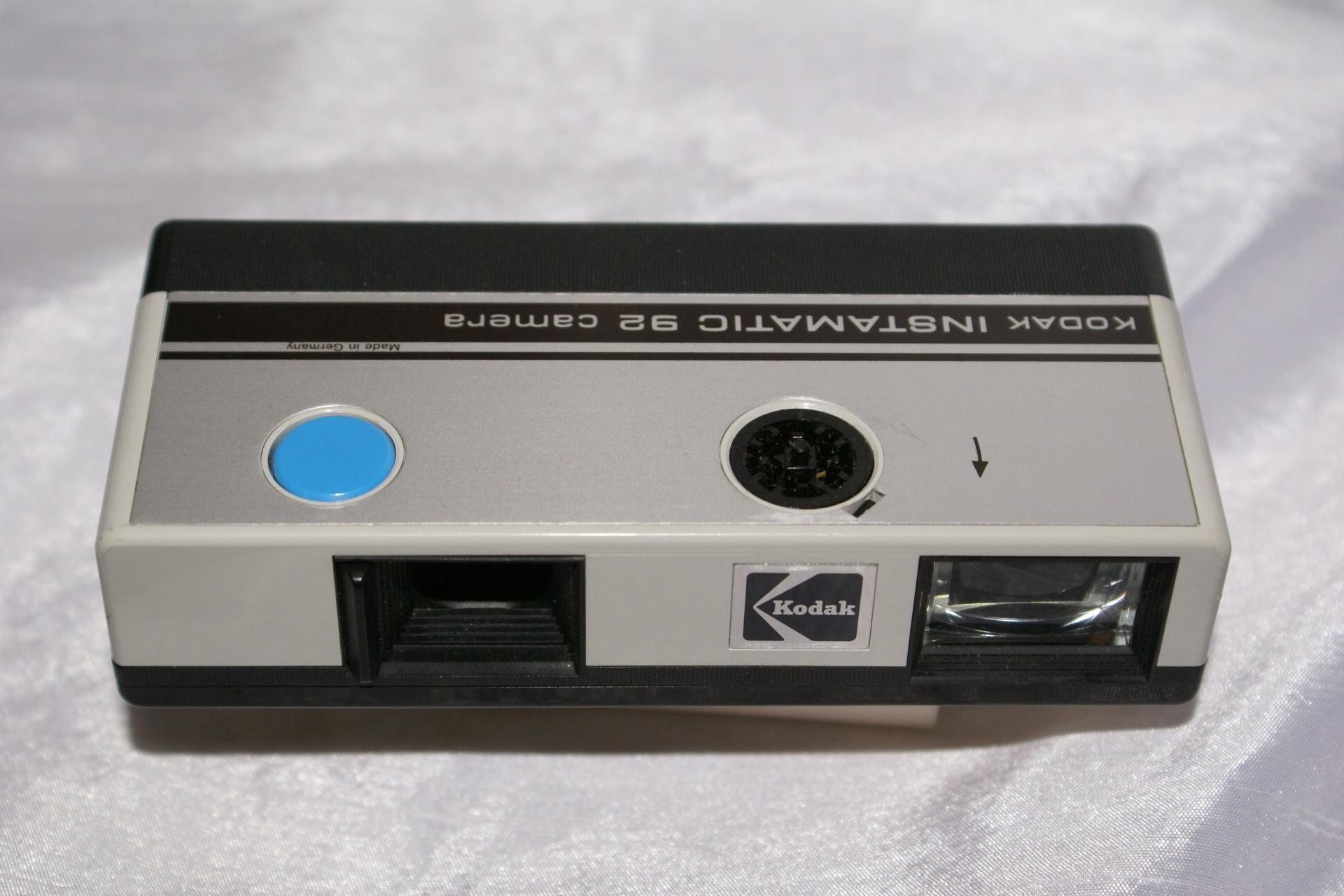 Un KODAK INSTAMATIC 92 d'accès de gamme 1972