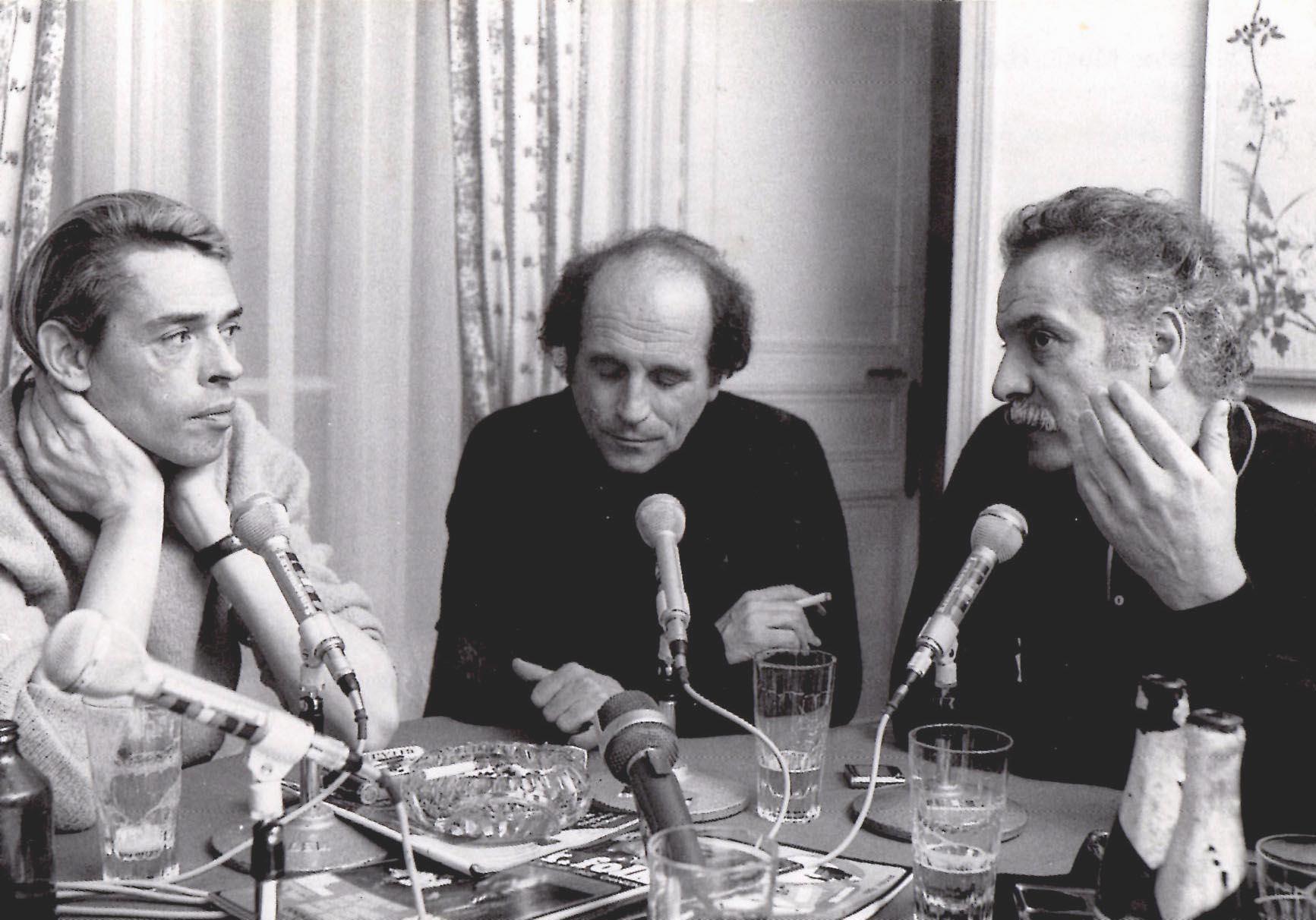 Brel, Ferré, Brassens by JEAN PIERRE LELOIR 1969