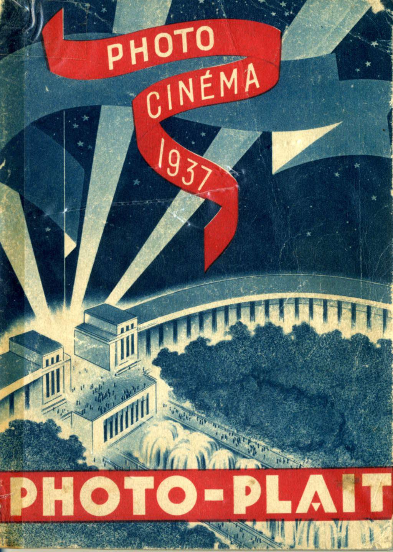 couverture du guide PHOTO PLAIT de 1937