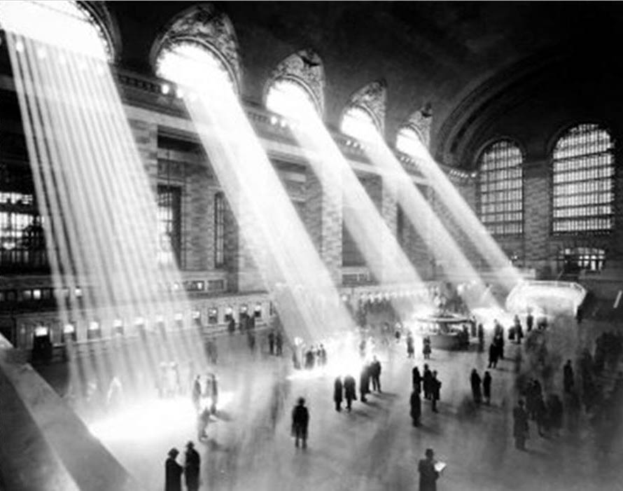 Gare de Grand Central New York vers 1935