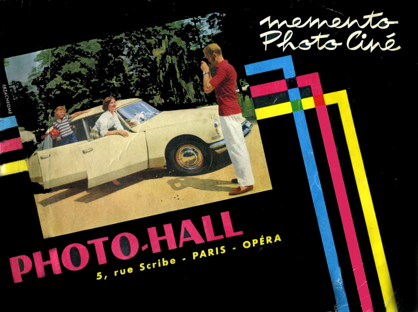 couverture du guide PHOTO HALL de 1960