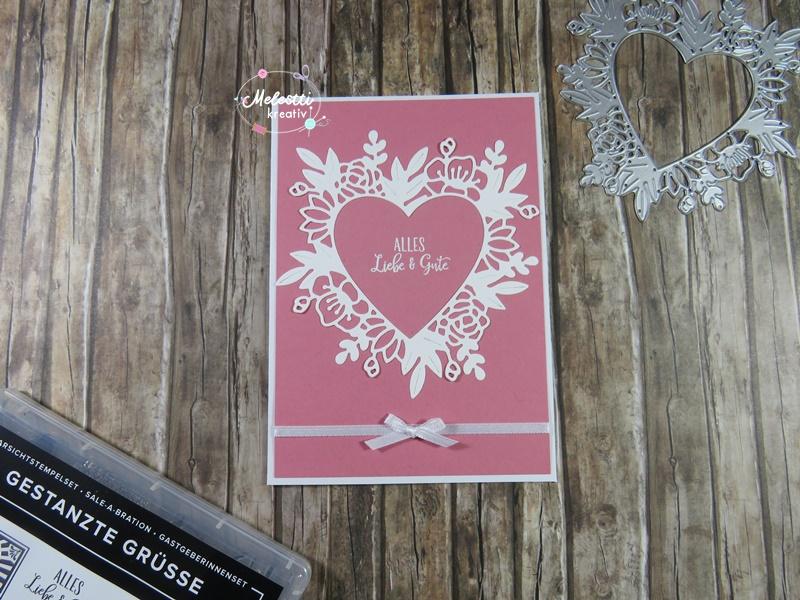 Geburtstagskarte mit Herz