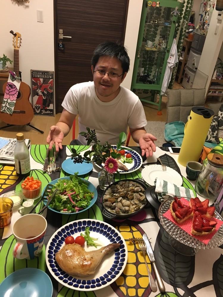 Xmas dinner‼︎美味しゅうございました(^O^)