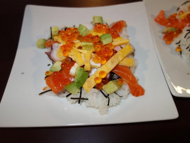 豪華にちらし寿司!