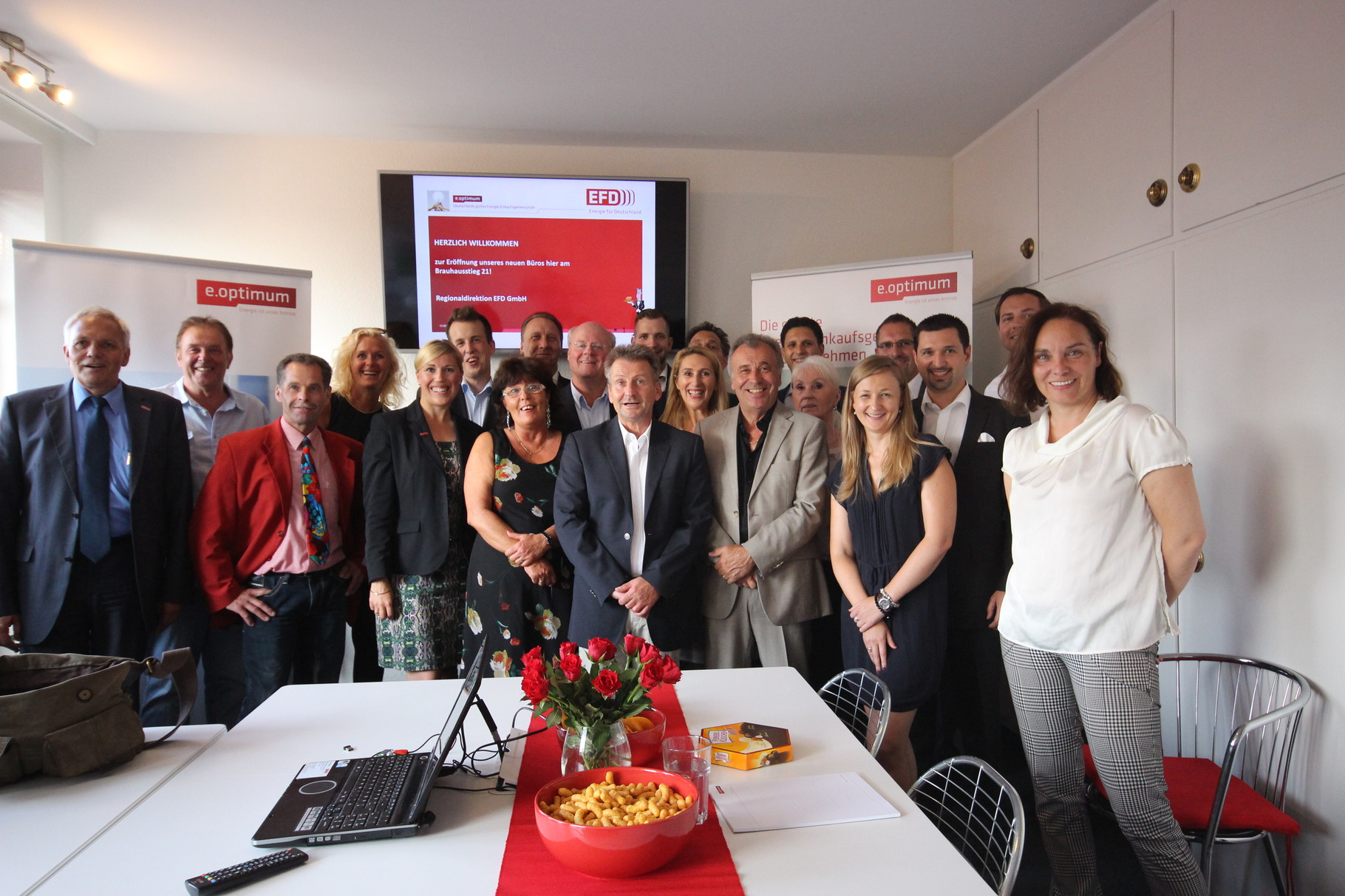 Das Team der Vertriebsdirektion EFD GmbH - Energie für Deutschland
