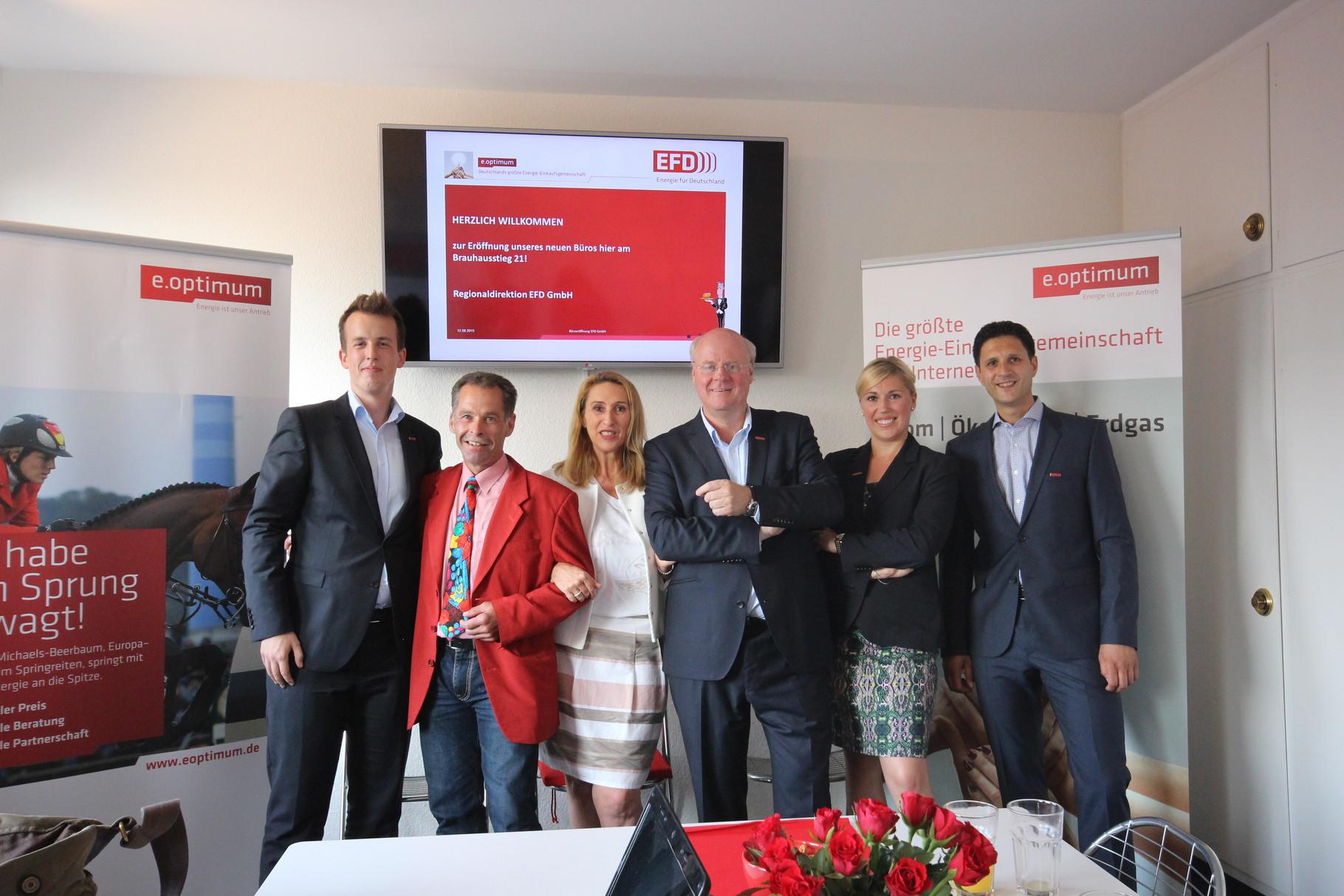 Das Team im Brauhausstieg Herr Fiehn, Herr Kuschmierz, Frau Zube, Herr Engling, Frau Lorey und Herr Temel