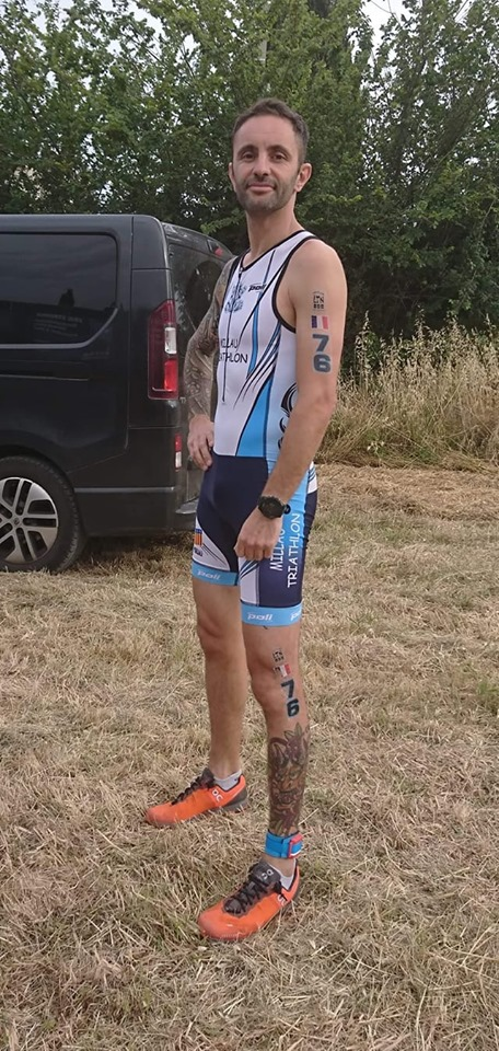 Millau Grands Causses Triathlon - Eric Verdonck - Championnats de Frances - Triathlon de Bouzigues