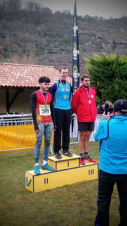 Champion d'aveyron cross 2020 - Szoldra Mathieu - ACSA - Millau Grands Causses Triathlon