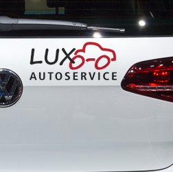 Lux Autoservice, Corporate Design