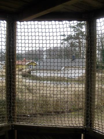 Netze anstatt Fallschutzboden