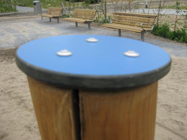 Schutzkappe für senkrechtes Holz