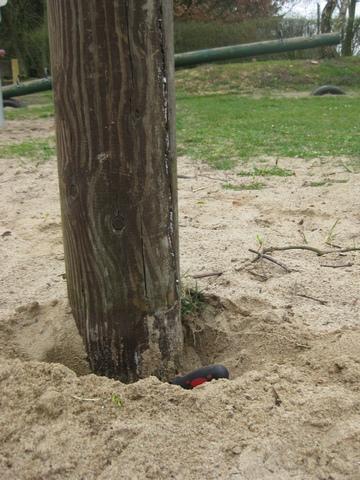 Holzschäden unterirdisch