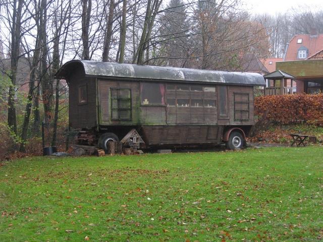 Bauwagen im Waldkindergarten