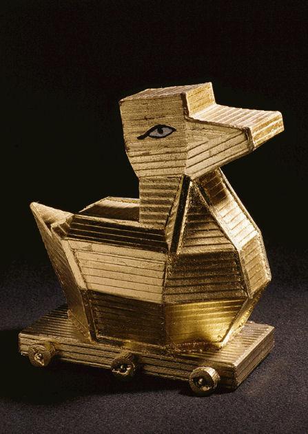 """Postkarte """"Trojanische Ente"""""""