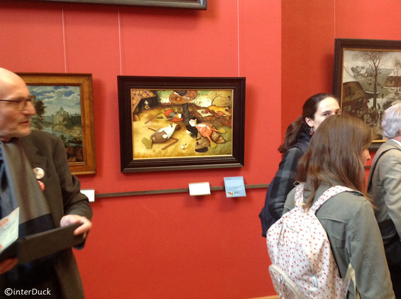 "Brueghel - ""Das Schlaraffenland"""