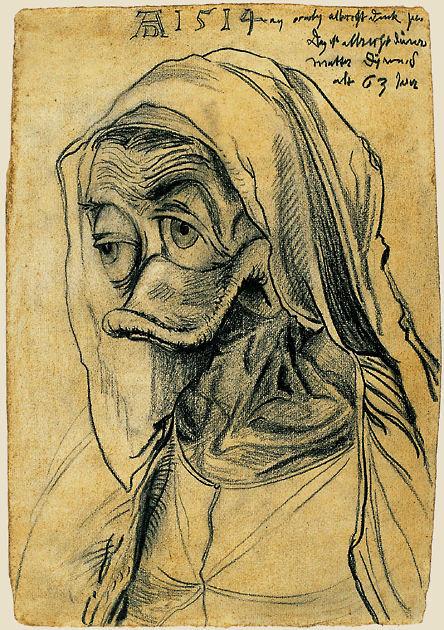 """Postkarte """"Dürers Mutter"""""""