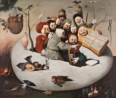 Das Konzert im Ei