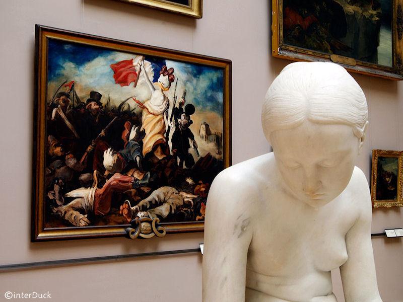 """Delacroix - """"Die Freiheit führt das Volk"""""""