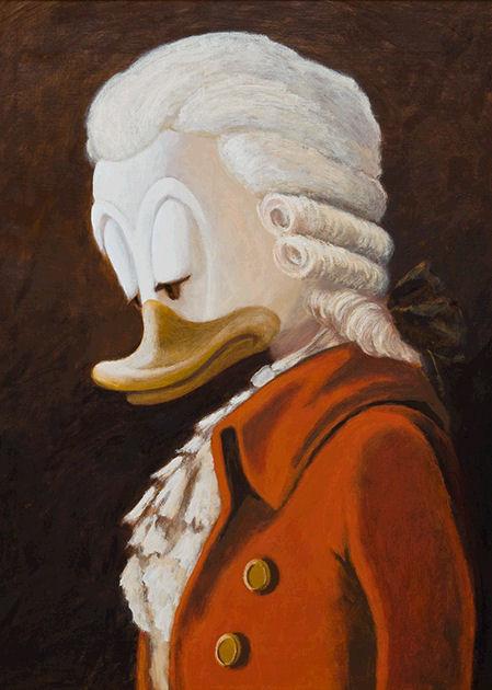 "Postkarte ""Portrait Mozarts"""