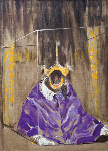 "Postkarte ""Papst Portrait"""