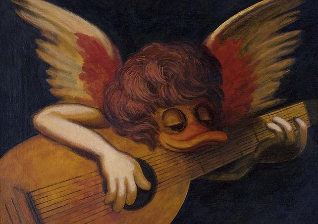 """Postkarte """"Englischer Engel"""""""