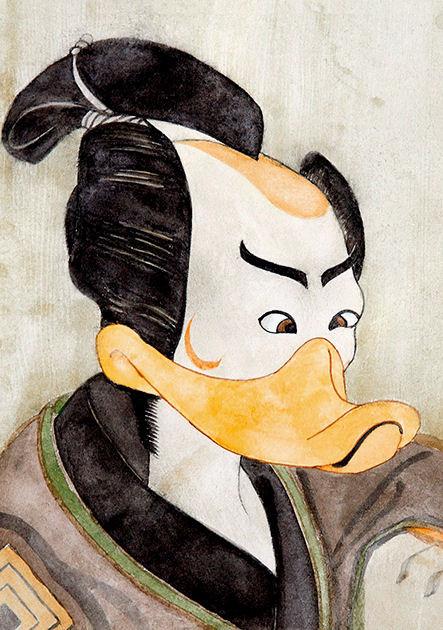 """Postkarte """"Theaterschauspieler , Japan"""""""
