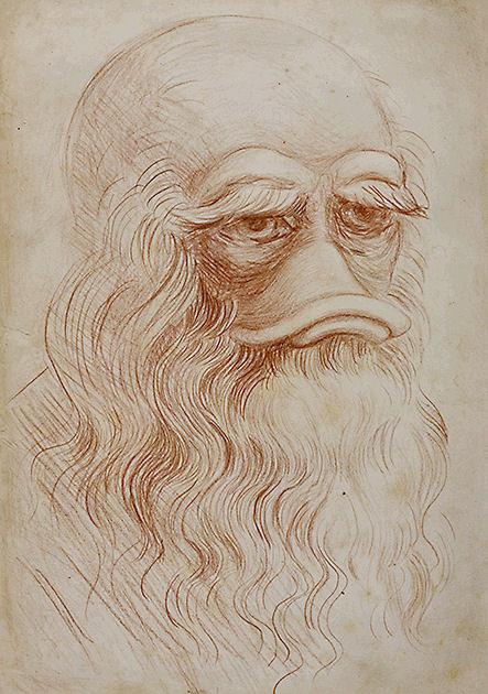 """Postkarte """"Leonardo da Vinci"""""""