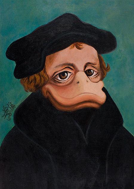 "Postkarte ""Martin Luther"""