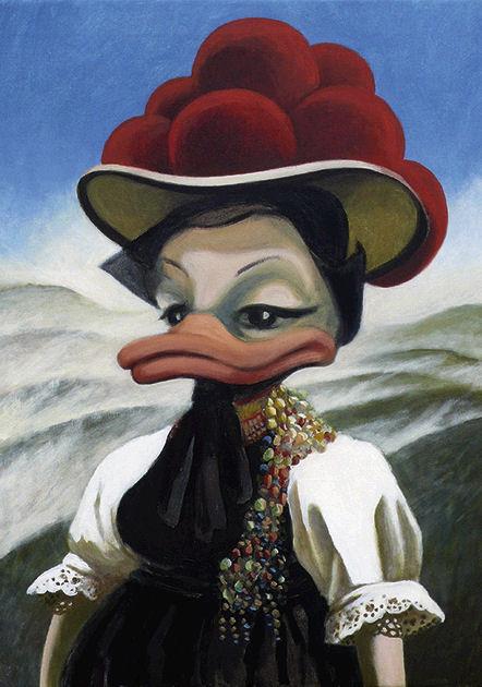 "Postkarte ""Schwarzwald-Ente"""