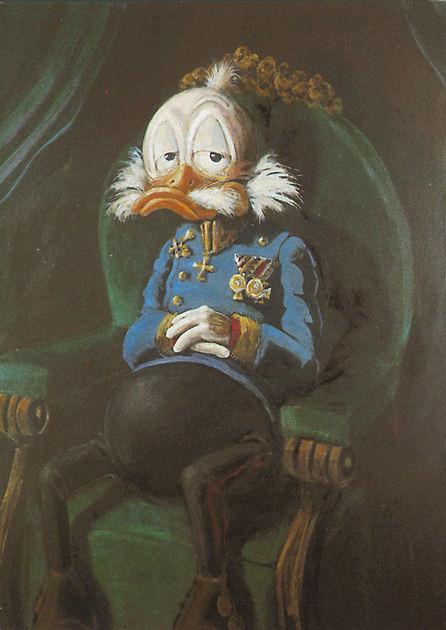 """Postkarte """"Ducks Josephus Primus"""""""