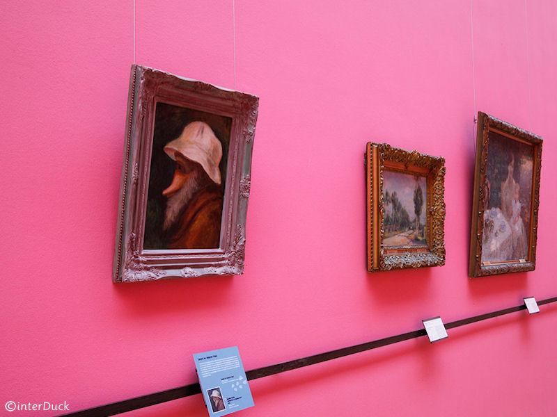 """Renoir - """"Ente mit weißem Hut"""""""