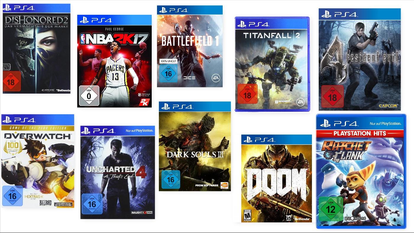 Playstation 4 Spiele Frauen