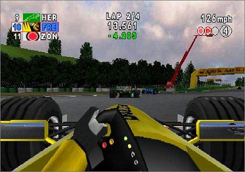 Formel 1 Spiele: F1 2000