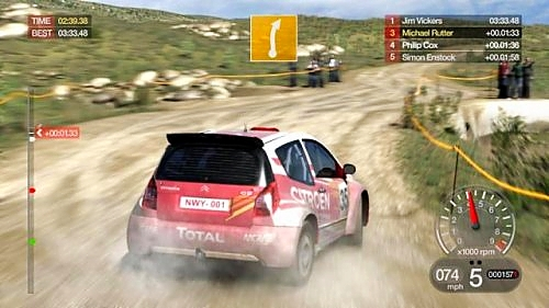 Colin McRae: DiRT - Gameplay
