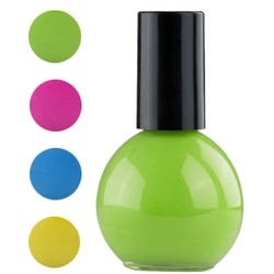★beauty balloon nail polish★ Der langhaftende und schnelltrocknende Nagellack ist in vier knalligen Farben erhältlich und macht die Nägel somit zu einem absoluten Hingucker. 14 ml für 2,25 €