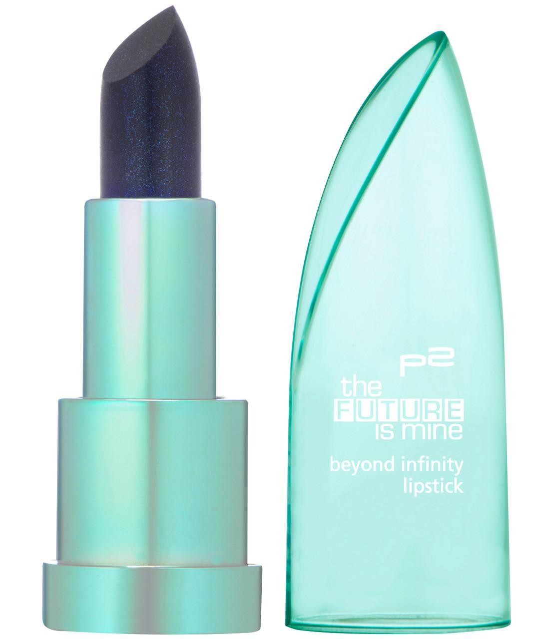 ★BEYOND INFINITY Lipstick★ Der semi-transparente Lippenstift verleiht einen faszinierenden Pearl-Effekt und lässt sich besonders konturenscharf und leicht auftragen. 4,5 g für 2,95 €